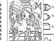 Kuu-Kuu Harajuku Coloring