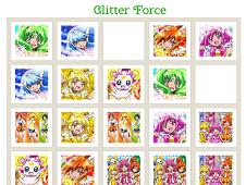Glitter Force Memory