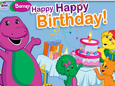Barney Happy Happy Birthday