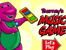 Barney's Music Game
