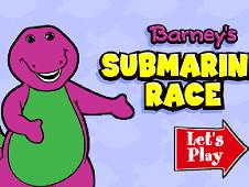 Barney Submarine Race