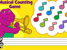 Barney and Friends Musical Counting Game