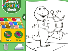 Barney's Coloring Book