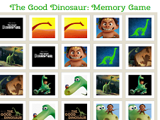 The Good Dinosaur Memory