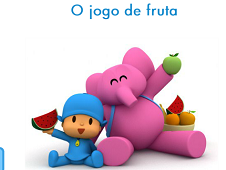 Pocoyo Picking Up Fruits