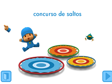 Pocoyo Jumping Contest