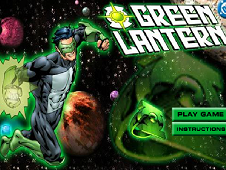 Green Lantern in Action
