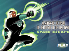 The Green Lantern Space Escape
