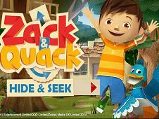 Zack and Quack Hide and Seek