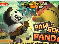 Kung Fu Panda Paw some Panda