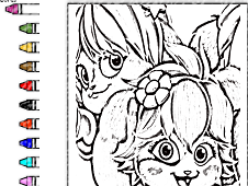Popples Coloring