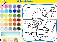 Little People Coloring