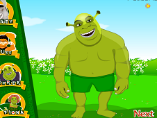 Shrek and Fiona Wedding