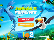 Blu's Jungle Flight