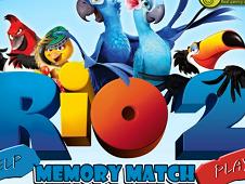 Rio 2 Memory Match