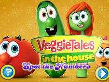 Veggie Tales Hidden Numers
