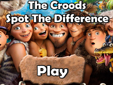 The Croods Spot the Differences