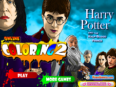 Harry Potter Online Coloring 2