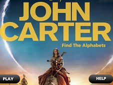 John Carter Find the Alphabets