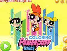 The Powerpuff Girls Coloring