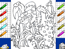 The Mighty Jungle Coloring