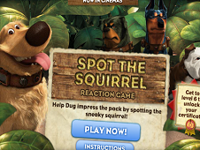Spot the Squrrel