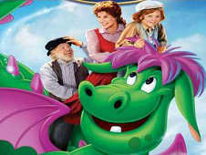 Pete's Dragon Cartoon Puzzle