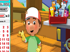 Handy Manny Spot the Numbers 2