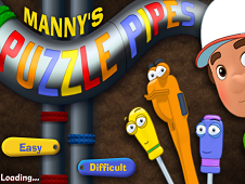 Handy Manny Puzzle Pipes