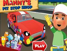 Handy Manny Pit Stop