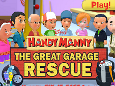 Handy Manny The Great Garage Rescue