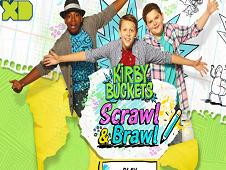 Kirby Buckets Scrawl and Brawl