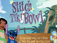 Stitch Tiki Bowl
