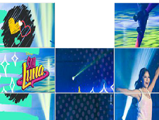Soy Luna Slidding Puzzle