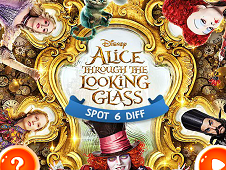 Alice Through the Looking Glass 6 Diff