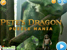 Pete's Dragon Puzzle Mania