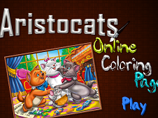 Aristocrats Online Coloring Page