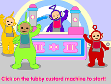 Teletubbies Custard Machine