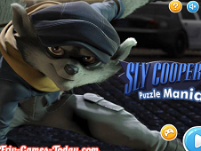 Sly Cooper Puzzle Mania