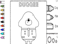 Hey Doggee Coloring