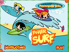 Powerpuff Girls: Power Surf