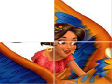 Elena of Avalor Sliding Puzzle