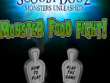 Scooby Doo Monster Food Fight