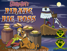 Scooby Doo's Pirate Pie Toss