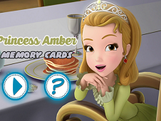Princess Amber Memory Cards