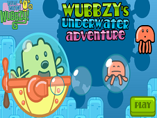 Wubbzy Underwater Adventure Game