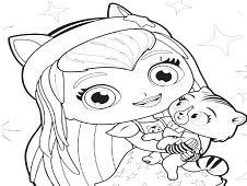 Little Charmers Coloring