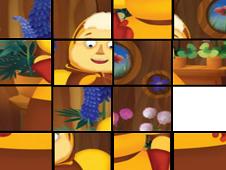 Luntik Tiles Puzzle