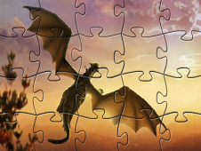 Pete's Dragon Jigsaw Puzzle
