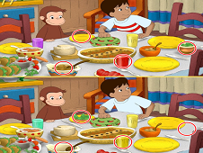Curious George Differences